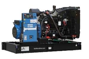 groupe électrogène 100 à 250 kVA