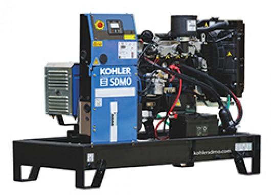 Groupe électrogène 12KVA sur chassis