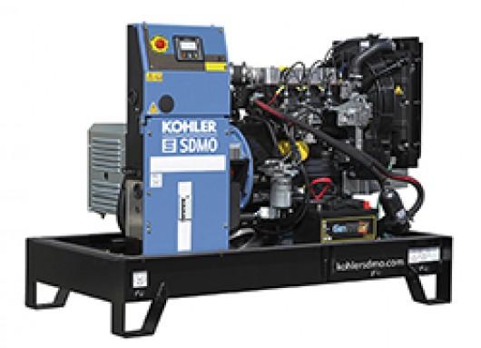 Groupe électrogène 16,5KVA sur chassis