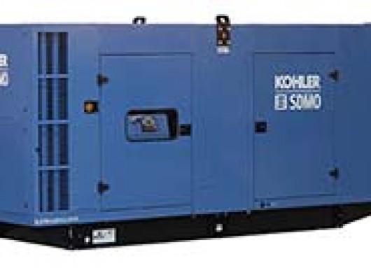 Groupe électrogène 550KVA avec capot insonorisé