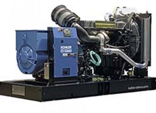 Groupe électrogène 390KVA sur châssis