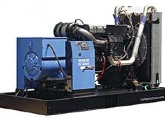 Groupe électrogène 500KVA sur châssis